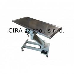 Veterinární operační stůl s elektrickým zdvihem VT - 804 ON