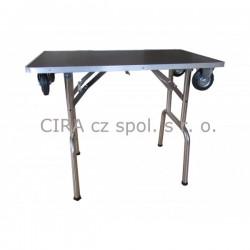 Stříhací a trimovací stůl s kolečky - střední plemena - FT-202A