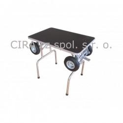 Stříhací a trimovací stůl s pneumatikami - střední plemena - FT-222