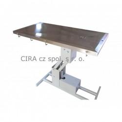 Veterinární operační stůl s elektrickým zdvihem VT - 804OE-C